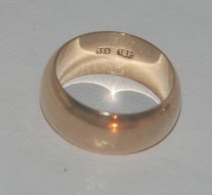 original parisian fake gipsy goldring